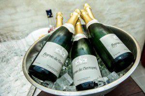 Champagne flesse