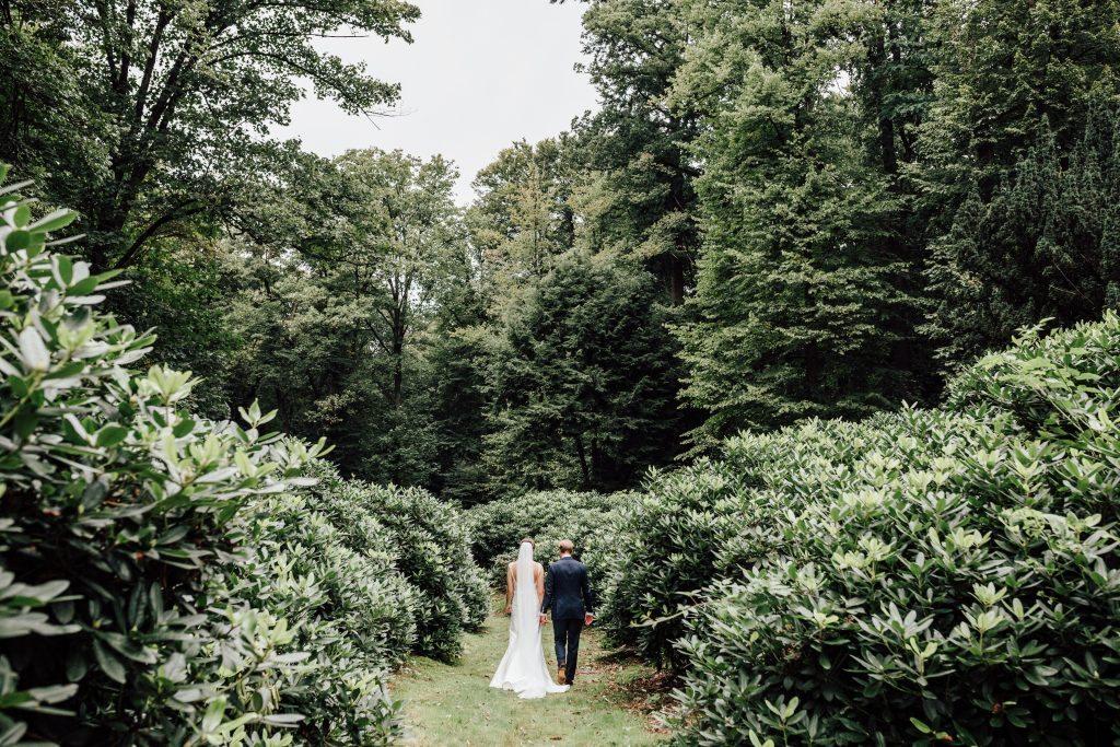 bruidspaar omgeving